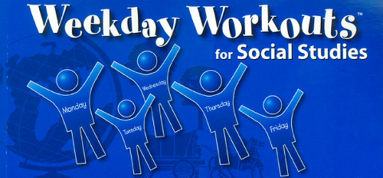 Weekday Workouts for Social Studies - Student Booklet 10-Pack Grade 4