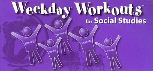 Weekday Workouts for Social Studies - Student Booklet 10-Pack Grade 6