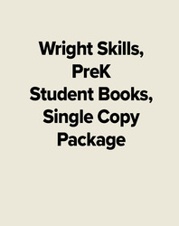 Wright Skills, PreK Student Books, Single Copy Package