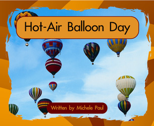 Springboard, Hot-Air Balloon Day (Level E) 6-pack
