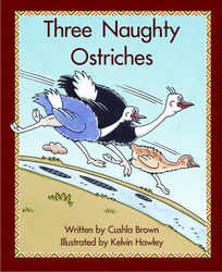 Springboard, Three Naughty Ostriches (Level J) 6-pack