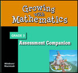 Growing with Math, Grade 3, Discussion Book CD Activity Book