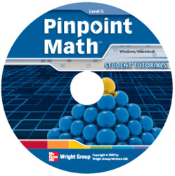 Pinpoint Math Grade 7/Level G, Interactive Tutorial CD