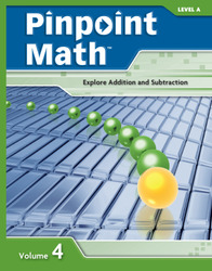 Pinpoint Math Grade 1/Level A, Student Booklet Volume IV