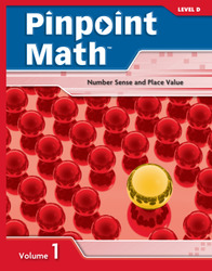 Pinpoint Math Grade 4/Level D, Student Booklet Volume I