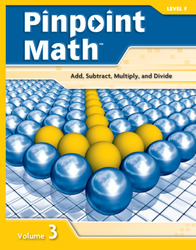 Pinpoint Math Grade 6/Level F, Student Booklet Volume III