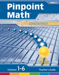 Pinpoint Math Grade 1/Level A, Teacher's Guide'
