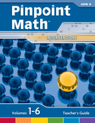 Pinpoint Math Grade 4/Level D, Teacher's Guide'