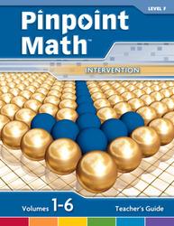 Pinpoint Math Grade 6/Level F, Teacher's Guide'