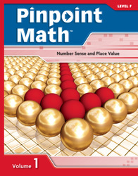 Pinpoint Math Grade 6/Level F, Student Booklet Volume I (5-pack)