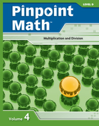 Pinpoint Math Grade 4/Level D, Student Booklet Volume IV (5-pack)