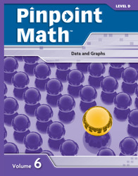 Pinpoint Math Grade 4/Level D, Student Booklet Volume VI (5-pack)