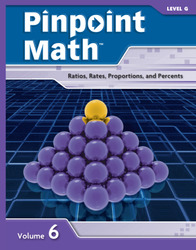 Pinpoint Math Grade 7/Level G, Student Booklet Volume VI (5-pack)