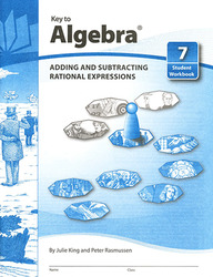 Key to Algebra, Book 7: Adding and Subtracting Rational Expressions
