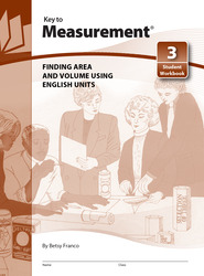 Key to Measurement, Book 3: Finding Area and Volume Using English Units