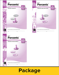 Key to Percents, Books 1-3 Set