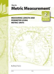 Key to Metric Measurement, Book 2: Measuring Length and Perimeter Using Metric Units