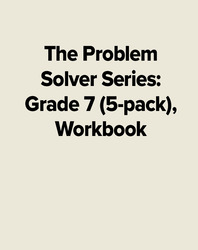 The Problem Solver Series: Grade 7 (5-pack), Workbook