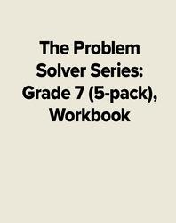 The Problem Solver Series: Grade 7 (5-pack), Workbook
