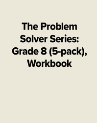 The Problem Solver Series: Grade 8 (5-pack), Workbook