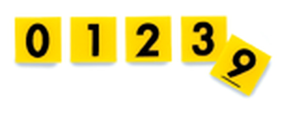 Try-A-Tile: Opaque Numeral Tiles