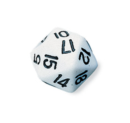 Polyhedral Dice (Icosahedra)