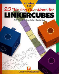 20 Thinking Questions, Linker Cubes, Grades 1-3