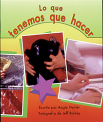 Storyteller, Spanish, First Snow, (Level E) Our Chore Chart, Lo que tenemos que hacer 6-pack