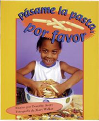 Storyteller, Spanish, Setting Sun, (Level F) Pass the Pasta, Please, Pásame la pasta por favor 6-pack