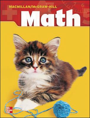 Macmillan/McGraw-Hill Math, Grade 1, Pupil Edition (2 Volume Consumable Set)
