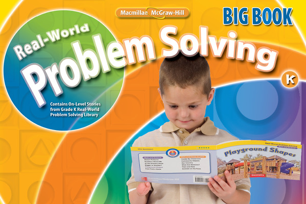 Math Connects, Grade K, Real-World Problem Solving Readers Big Book