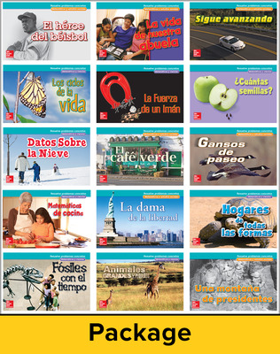 McGraw-Hill My Math, Grade 2, Real-World Problem Solving Readers Deluxe Package (Spanish)