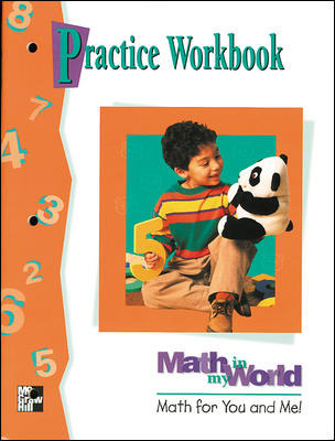 Math in My World, Grade K, Practice Workbook