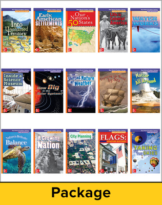 McGraw-Hill My Math, Grade 5, Real-World Problem Solving Readers Package (Approaching)