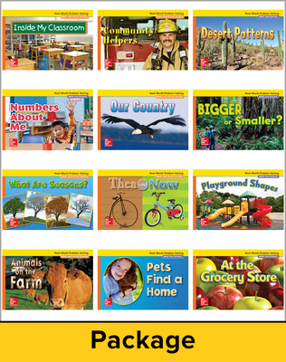 McGraw-Hill My Math, Grade K, Real-World Problem Solving Readers Deluxe Package (Approaching)