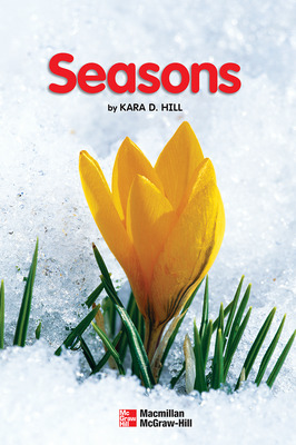 Science, A Closer Look, Grade K, Ciencias: Leveled Reader - Seasons