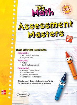 McGraw-Hill My Math, Grade K, Assessment Masters