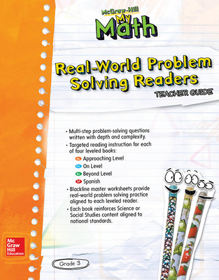 McGraw-Hill My Math, Grade 3, Real-World Problem Solving Leveled Reader Teacher Guide