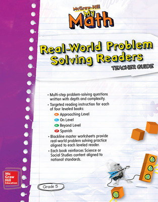 McGraw-Hill My Math, Grade 5, Real-World Problem Solving Leveled Reader Teacher Guide