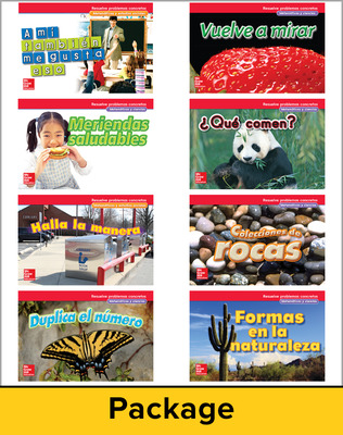 McGraw-Hill My Math, Grade 1, Spanish Real-World Problem Solving Reader Package for My Learning Station