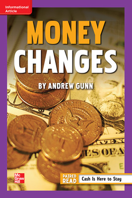 Reading Wonders Leveled Reader Money Changes: ELL Unit 1 Week 5 Grade 6
