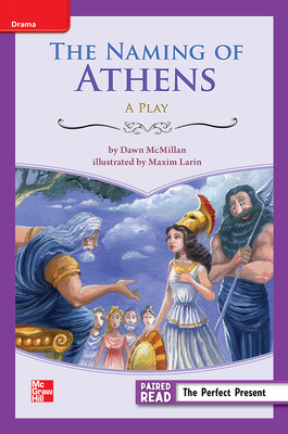 Reading Wonders Leveled Reader The Naming of Athens: ELL Unit 6 Week 1 Grade 3