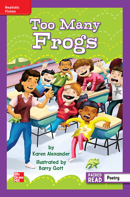 Reading Wonders Leveled Reader Too Many Frogs: ELL Unit 6 Week 5 Grade 3