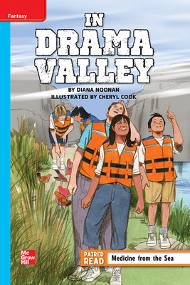 Reading Wonders Leveled Reader In Drama Valley: On-Level Unit 3 Week 2 Grade 5