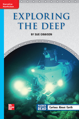 Reading Wonders Leveled Reader Exploring the Deep: On-Level Unit 1 Week 4 Grade 6