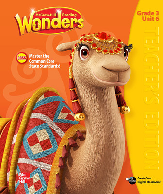 Reading Wonders, Grade 3, Teacher Edition Volume 6