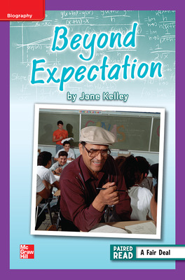 Reading Wonders Leveled Reader Beyond Expectation: ELL Unit 3 Week 4 Grade 6