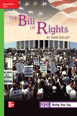 Reading Wonders Leveled Reader The Bill of Rights: Beyond Unit 2 Week 1 Grade 5