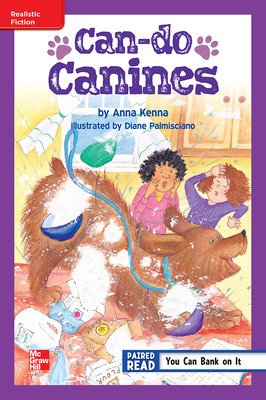 Reading Wonders Leveled Reader Can-do Canines: ELL Unit 1 Week 1 Grade 5