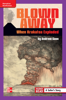 Reading Wonders Leveled Reader Blown Away: When Krakatoa Exploded: ELL Unit 6 Week 2 Grade 6